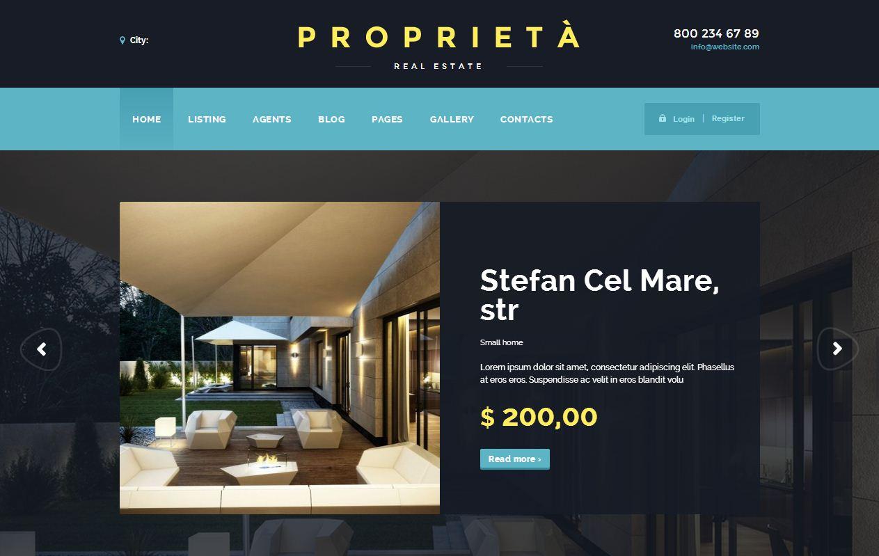 Proprieta WordPress Theme - Theme Rater